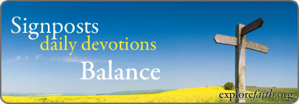 Daily Devotions: Balance