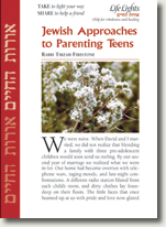 Jewish Approaches to Parenting Teens by Rabbi Tirzah Firestone