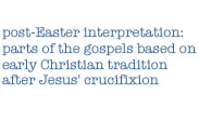 definition of post-Easter interpretation