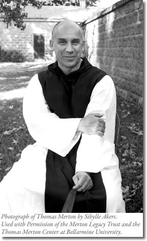 Thomas Merton photograph by by Sibylle Akers. Used with Permission of the Merton Legacy Trust and the Thomas Merton Center at Bellarmine University